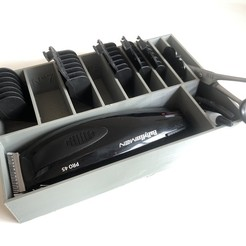 Télécharger objet 3D Boite de rangement pour tondeuse à cheveux, gouls29