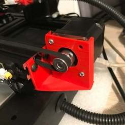 Download free 3D printer files Y-axis motor support with dumper, gouls29