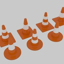 Download 3D printer designs  Traffic Cone Pack , banism24