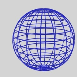 Download STL files  Wireframe Sphere , banism24