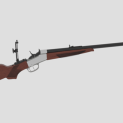 Download 3D print files  Creedmoor RIfle , banism24