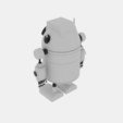Download 3D printing designs Robo Cylinder White, banism24