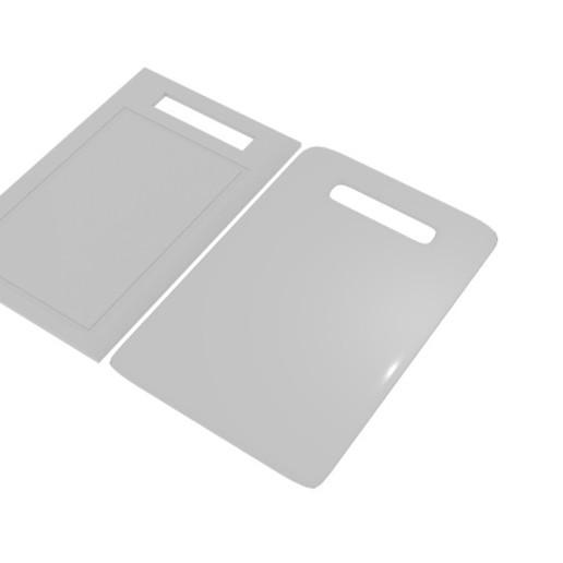 Download 3D Printer Designs Cutting Board Plain Model ・ Cults