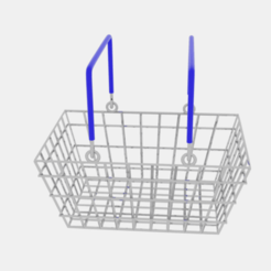 Download 3D printing models Shopping Basket , banism24