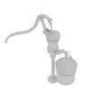 Descargar modelos 3D para imprimir Bombas de agua antiguas Bombas de gas Modelo 3D, banism24