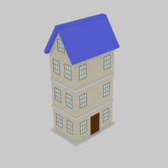 thhs.png Download STL file  Toon House  • 3D printable design, banism24