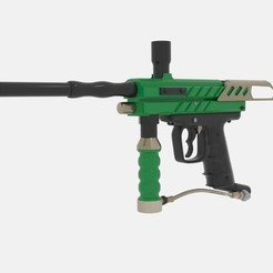 Imprimir en 3D Pistolas de Paintball Paintball, banism24