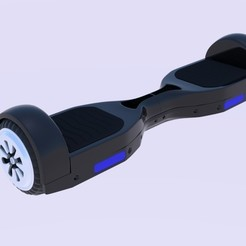 Download 3D printing designs  Electric Skateboard , banism24