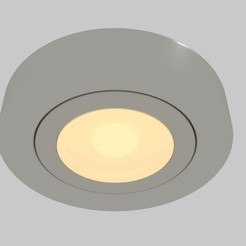 rcscylght1.jpg Download STL file  Recessed Round Light  • 3D printer design, banism24