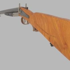 Download STL file  Antique Rifle , banism24