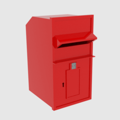 Download 3D printer files  British Post Box , banism24
