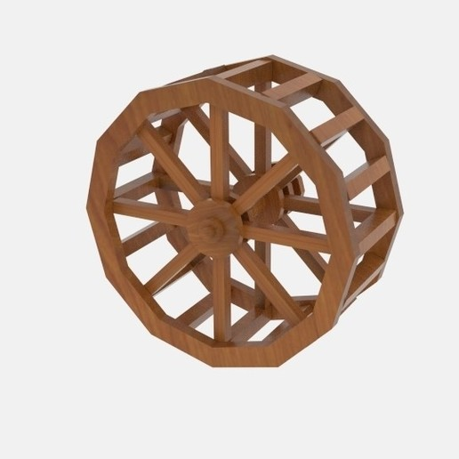Download 3D printing files Wheel Water, banism24