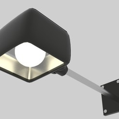armwlgh1.jpg Download STL file  Arm Wall Light  • 3D print model, banism24