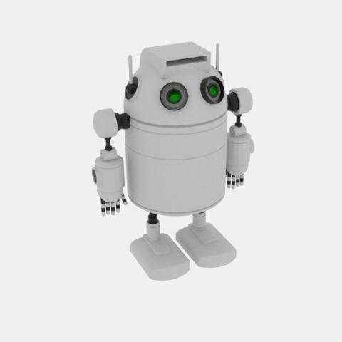 Impresiones 3D Robo Cilindro Blanco, banism24