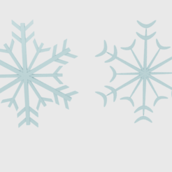Download STL file  Snowflake 1 , banism24