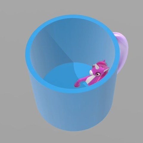Descargar archivo 3D Copa Unicornio, tiranix