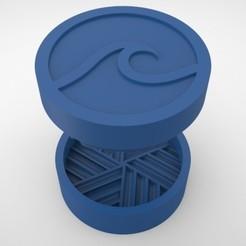 Grinders.379.jpg Télécharger fichier STL BROYEUR HERBE - DIY - OLA • Plan imprimable en 3D, SnakeCreations