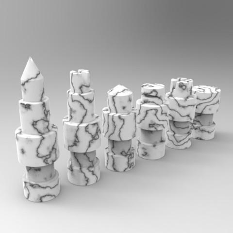 untitled.54.jpg Télécharger fichier STL gratuit Figurines d'échecs • Plan pour imprimante 3D, SnakeCreations
