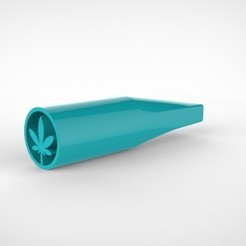 untitled.267.jpg Download STL file WEED FILTER TIP PIPE STYLE • 3D print object, SnakeCreations