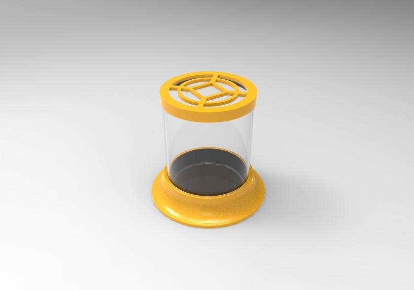 untitled.39.jpg Télécharger fichier STL gratuit Pot à cactus • Plan pour imprimante 3D, SnakeCreations