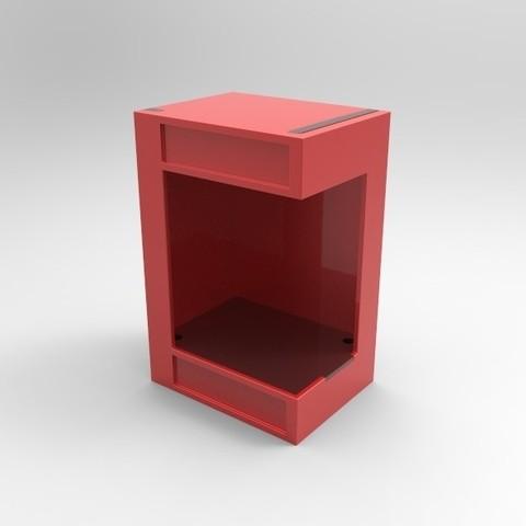 untitled.24.jpg Télécharger fichier STL Boîte à lumière Funko Pop • Plan pour imprimante 3D, SnakeCreations