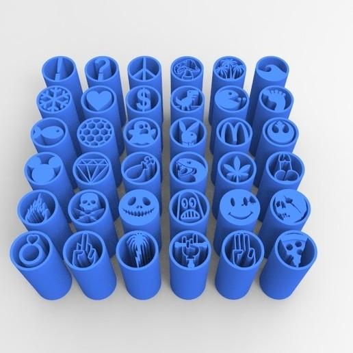 untitled.247.jpg Télécharger fichier STL 36 CONSEILS SUR LES FILTRES À MAUVAISES HERBES VOL.1+2+3+4 • Design pour impression 3D, SnakeCreations