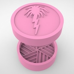 Grinders.386.jpg Télécharger fichier STL HERBE À BROYER - DIY - SPRINGBREAK • Design pour impression 3D, SnakeCreations