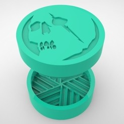 Grinders.368.jpg Télécharger fichier STL BROYEUR HERBE - DIY - CAPITA • Modèle pour impression 3D, SnakeCreations