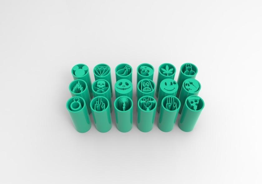 untitled.230.jpg Télécharger fichier STL 18 CONSEILS SUR LES FILTRES À MAUVAISES HERBES VOL.1+2 • Design à imprimer en 3D, SnakeCreations
