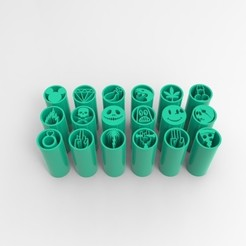 Download 3D printer designs FILTERS WEED VOL.1+2, SnakExtruders