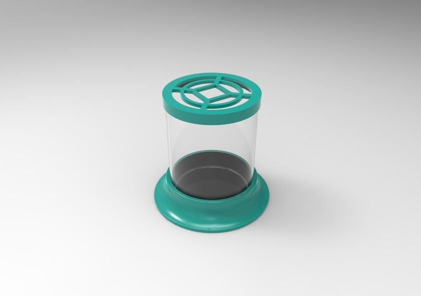 untitled.37.jpg Télécharger fichier STL gratuit Pot à cactus • Plan pour imprimante 3D, SnakeCreations