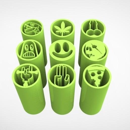filtros weed v5.61.jpg Télécharger fichier STL VOL.1 -- 9 CONSEILS SUR LES FILTRES ANTI-MAUVAISES HERBES • Plan imprimable en 3D, SnakeCreations
