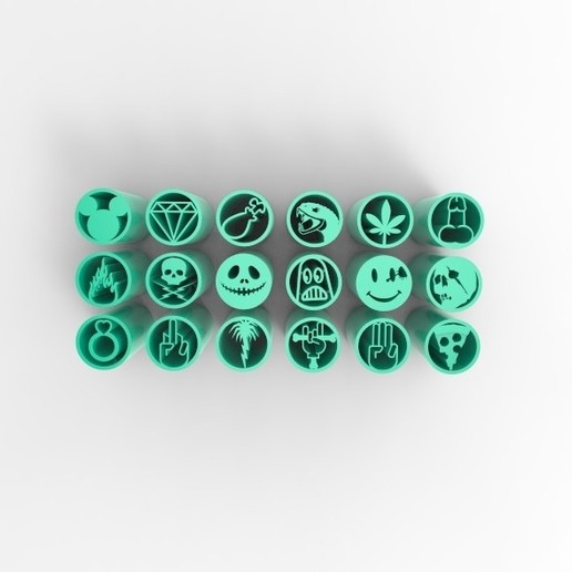 untitled.231.jpg Download STL file 18 WEED FILTERS TIPS VOL.1+2 • 3D printing template, SnakeCreations