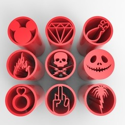 Télécharger fichier STL 9 CONSEILS SUR LES FILTRES À MAUVAISES HERBES VOL.2 • Plan à imprimer en 3D, SnakeCreations