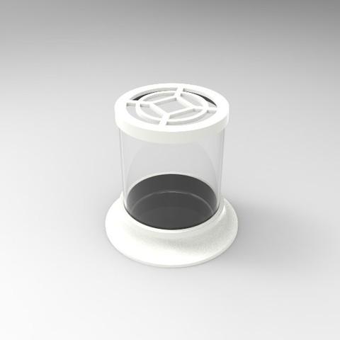 untitled.38.jpg Télécharger fichier STL gratuit Pot à cactus • Plan pour imprimante 3D, SnakeCreations