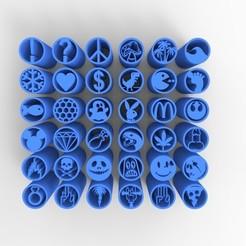untitled.246.jpg Télécharger fichier STL 36 CONSEILS SUR LES FILTRES À MAUVAISES HERBES VOL.1+2+3+4 • Design pour impression 3D, SnakeCreations