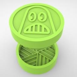 Grinders.387.jpg Télécharger fichier STL BROYER L'HERBE - DIY - SWITCHBACK • Objet à imprimer en 3D, SnakeCreations