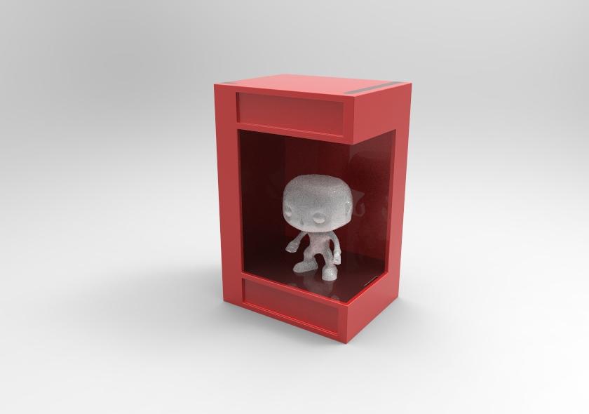 untitled.25.jpg Télécharger fichier STL Boîte à lumière Funko Pop • Plan pour imprimante 3D, SnakeCreations