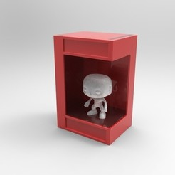 untitled.25.jpg Download STL file Funko Pop light box • Object to 3D print, SnakeCreations