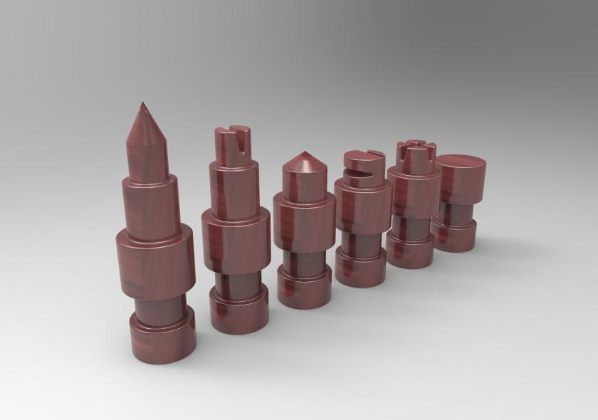untitled.53.jpg Télécharger fichier STL gratuit Figurines d'échecs • Plan pour imprimante 3D, SnakeCreations