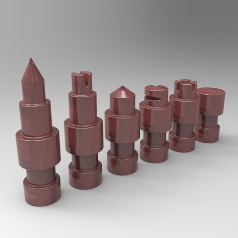 Download free STL files Chess figures, marcquins