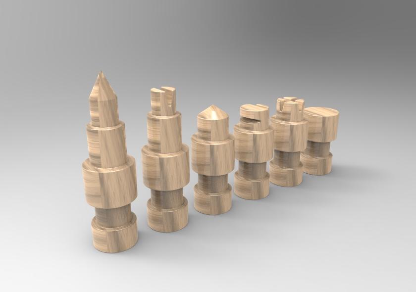 untitled.58.jpg Télécharger fichier STL gratuit Figurines d'échecs • Plan pour imprimante 3D, SnakeCreations