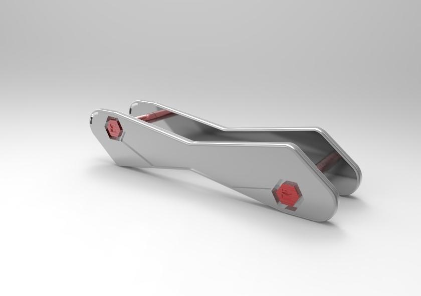 untitled.26.jpg Télécharger fichier STL gratuit Détenteur de la clé • Plan pour impression 3D, SnakeCreations