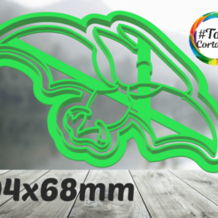 terodactilo.png Télécharger fichier STL moule à biscuit dino • Modèle imprimable en 3D, juanchininaiara