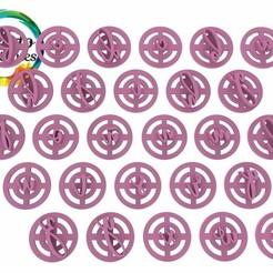 Miracle Script  minúsculas.191.jpg Télécharger fichier STL L'alphabet des timbres-poste L'écriture miraculeuse • Plan imprimable en 3D, juanchininaiara