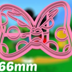 moño minnie.png Download STL file minnie cutter set accessories • 3D printable model, juanchininaiara