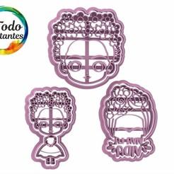 Download STL file Frida cookie cutters • 3D printing model, juanchininaiara