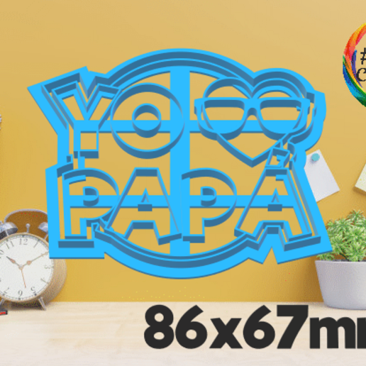 papá 10.png Download STL file father's day cutter set • 3D printing object, juanchininaiara