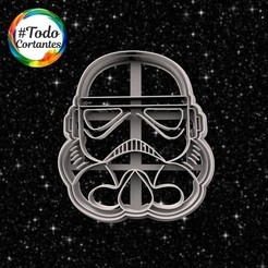 Download 3D printing files star wars cookie cutter, juanchininaiara