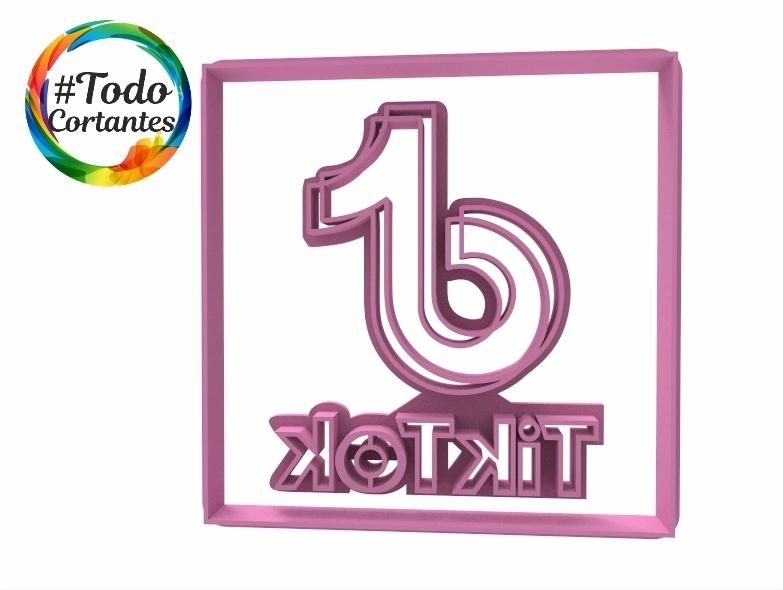 Download Stl File Tik Tok Cutter Set Design To 3d Print Cults